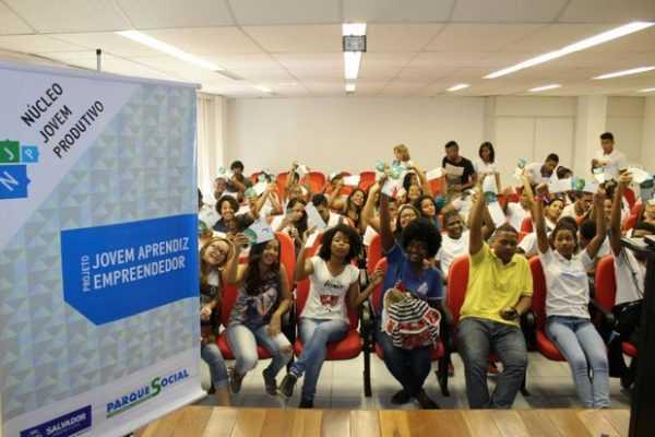 Programa jovem aprendiz do Parque Social 2018
