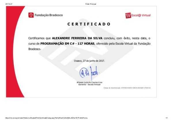 Cursos com certificados grátis Melhores cursos online