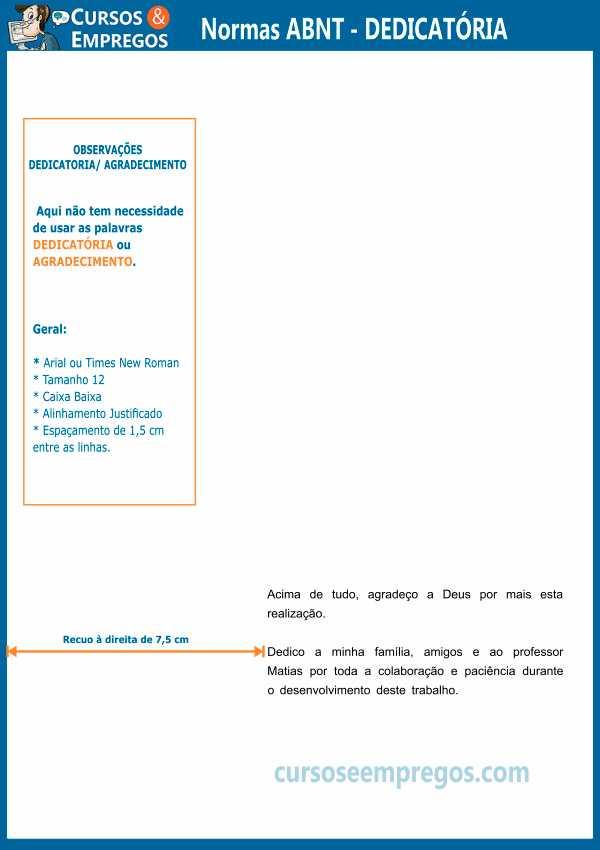 Regras ABNT para trabalho acadêmico 2019