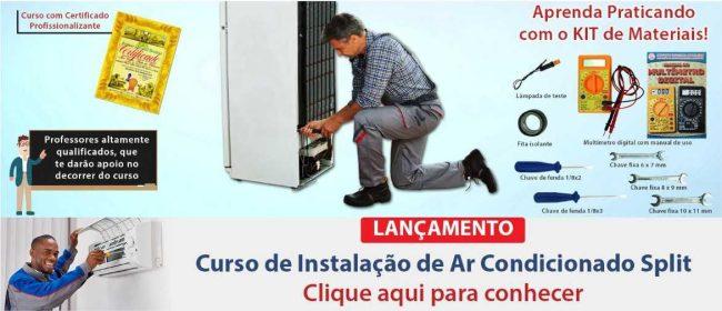 Curso Instalação e Manutenção Ar Condicionado 2021